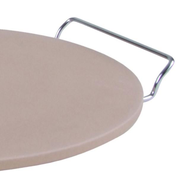 pizzastein 33cm backofenstein brotbackstein steinofen backblech pizzablech ebay. Black Bedroom Furniture Sets. Home Design Ideas
