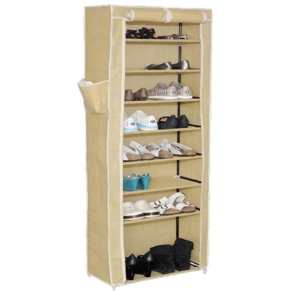 Mueble para calzado armario de tela dep sito zapatos for Armario para zapatos