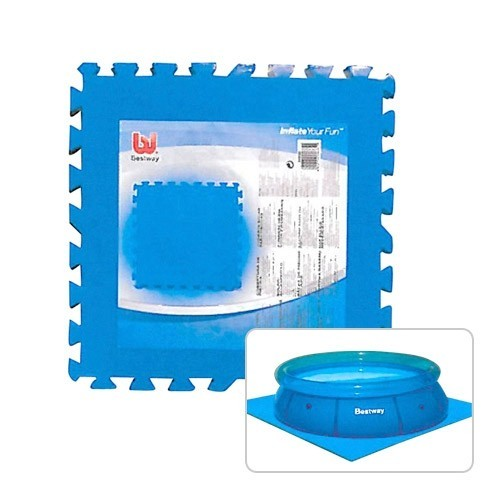 Bestway bottom protection plate for fast set pools for Gartenpool ebay