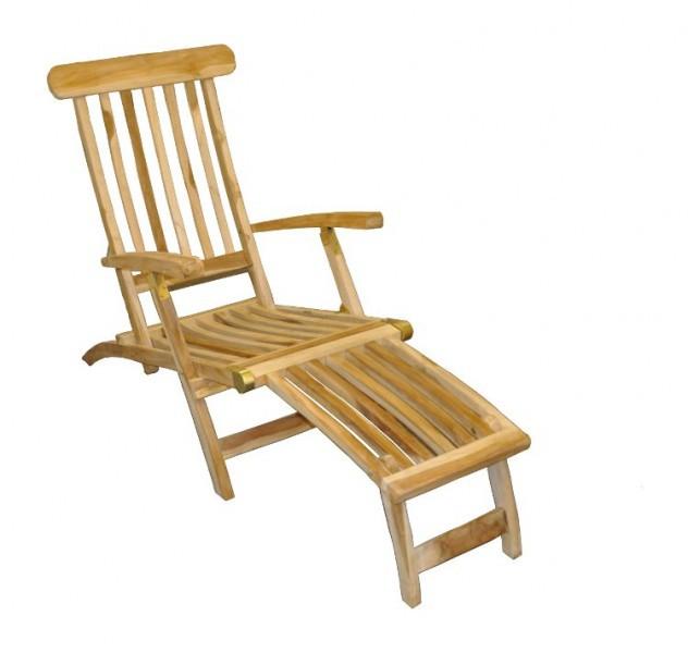 Teck chaise longue de jardin transat pour bois lit soleil for Chaises longues de jardin en teck