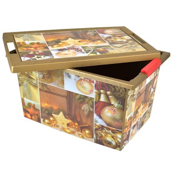 weihnachts aufbewahrungsbox christbaumkugeln weihnachtsdeko kiste rollenbox. Black Bedroom Furniture Sets. Home Design Ideas