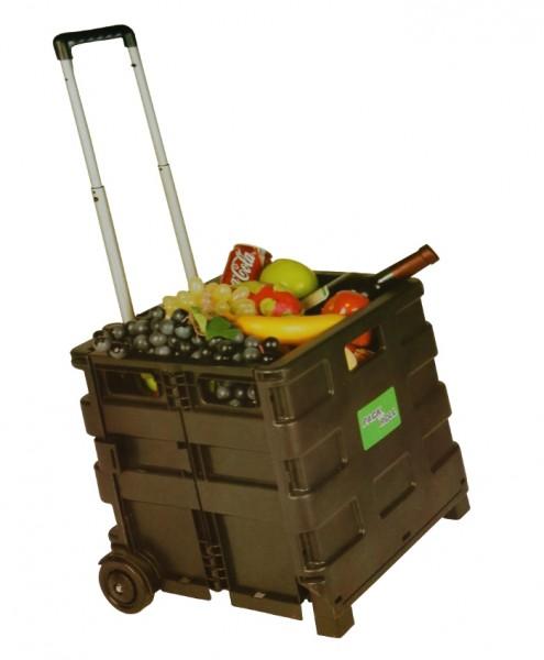 klappbare rollbox reise reisekoffer taschen reisekoffer trolleys sonstige. Black Bedroom Furniture Sets. Home Design Ideas