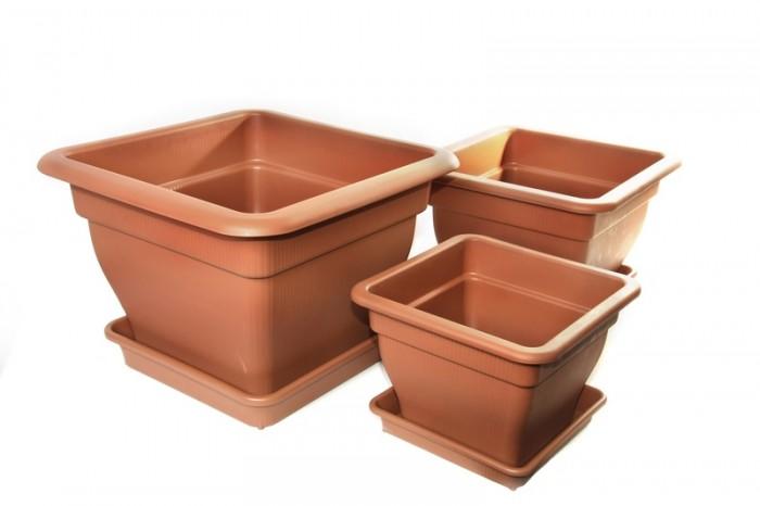 vierkantpflanzgef mit wasserspeicher 18 33 70 liter. Black Bedroom Furniture Sets. Home Design Ideas