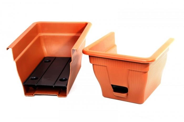 balkonkasten mit wasserspeicher 12 18 25 liter diverse farben blumenkasten garten pflanzzubeh r. Black Bedroom Furniture Sets. Home Design Ideas