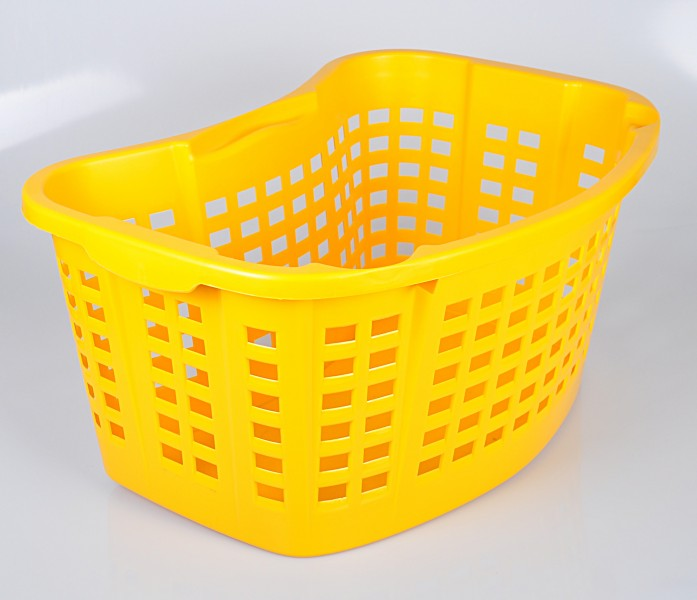 Stabiler Wäschekorb Kunststoff Made in Germany Wäschewanne Wäsche Korb Plastik eBay