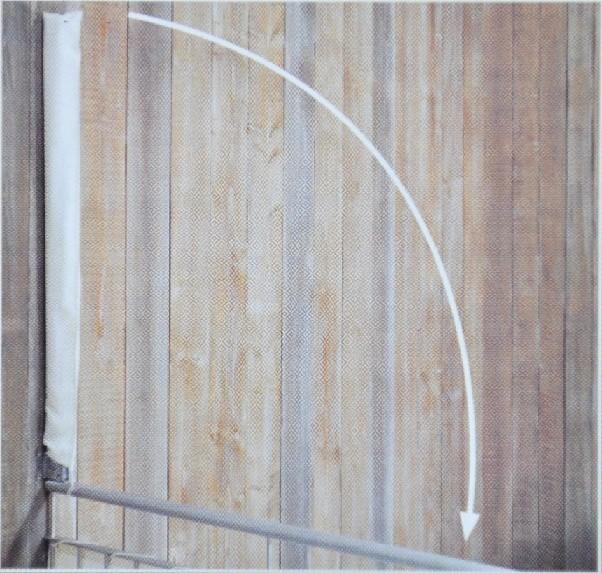 Balkon Sichtschutzf Cher Heimwerker Wand Boden