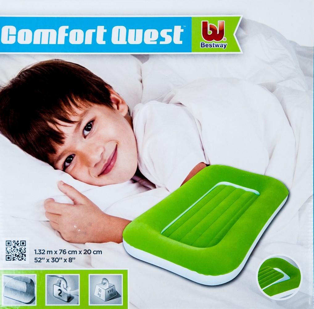 bestway kinder g stebett aufblasbar luftmatratze luftbett reisebett matratze ebay. Black Bedroom Furniture Sets. Home Design Ideas
