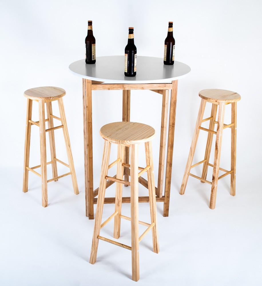 barhocker holz zusammenklappbar. Black Bedroom Furniture Sets. Home Design Ideas