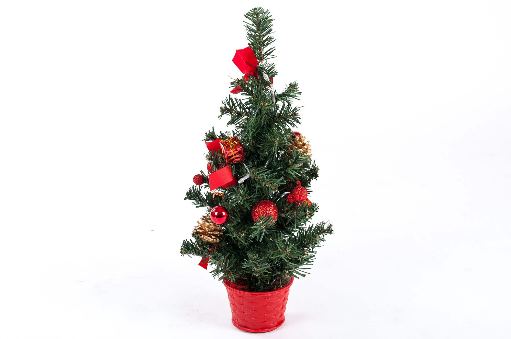 Led deko weihnachtsbaum h 45cm weihnachten tannenbaum for Deko versand